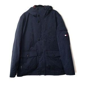 Tommy Hilfiger Navy Blue Down Jacket Men's Size XL